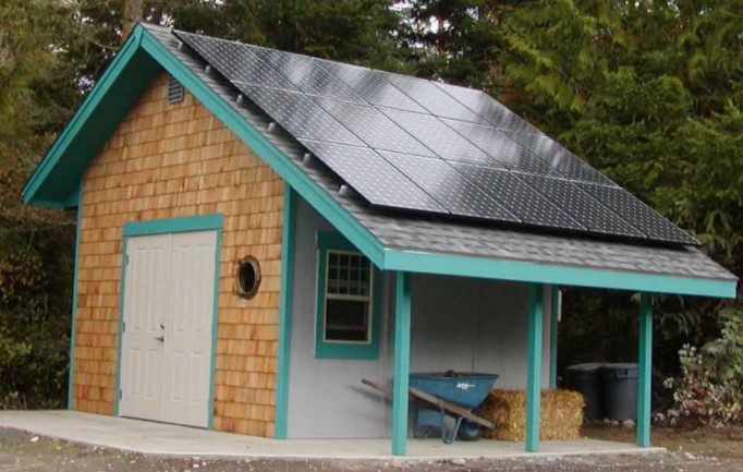 Can you add solar to your shed roof- important considerations.